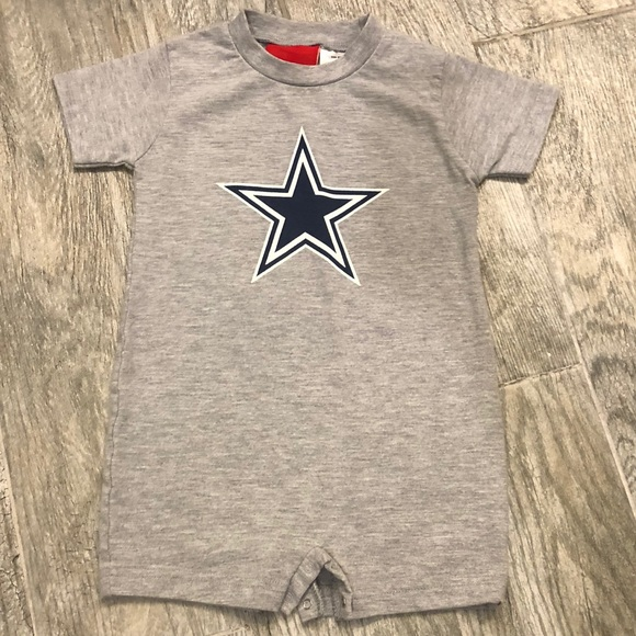 Unisex Dallas Cowboys Toddler Romper c40050718